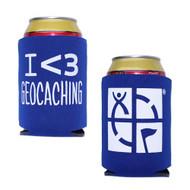 Geocaching Coozy - Blue