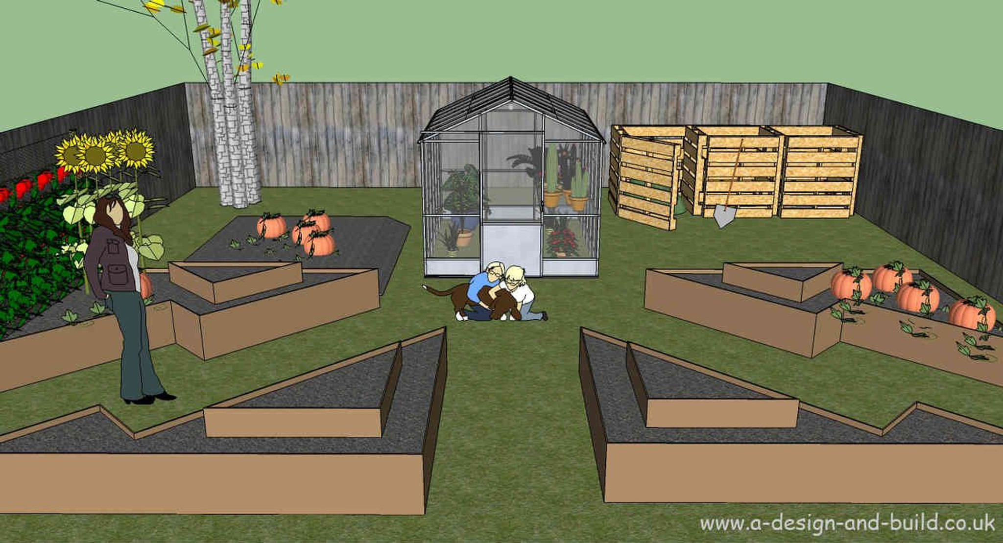 Raised bed garden plans