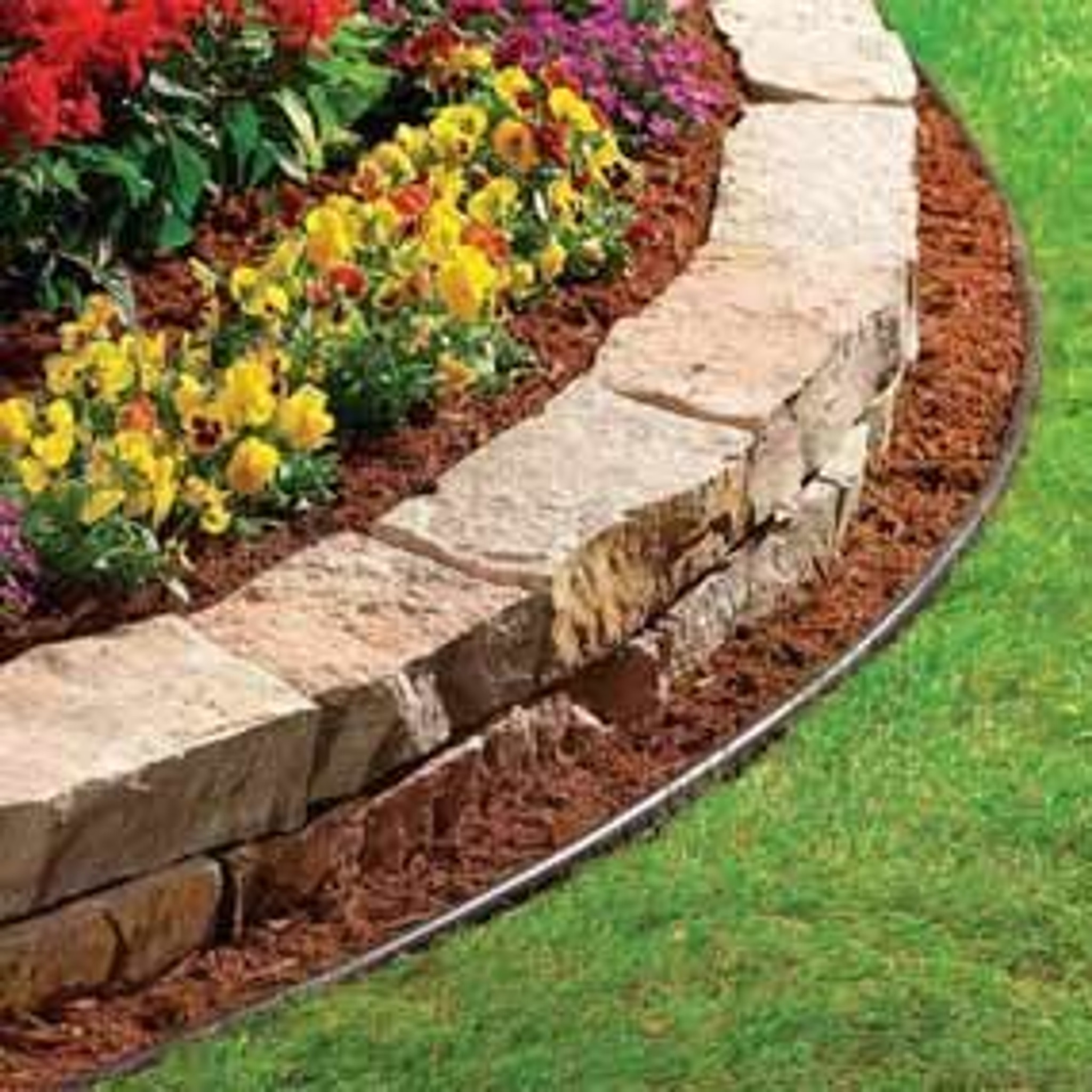 Lawn edging for beddings