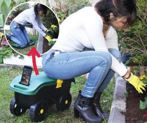 Kneeler on Gardening stool