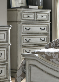 Magnolia Manor Five Drawer Chest