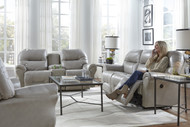 Bodie Double Reclining Sofa & Loveseat with Console
