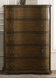 Cotswold 5 Drawer Chest: Cinnamon