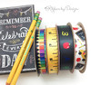 Check out all our school and teacher  ribbon to for a great school themed party!
