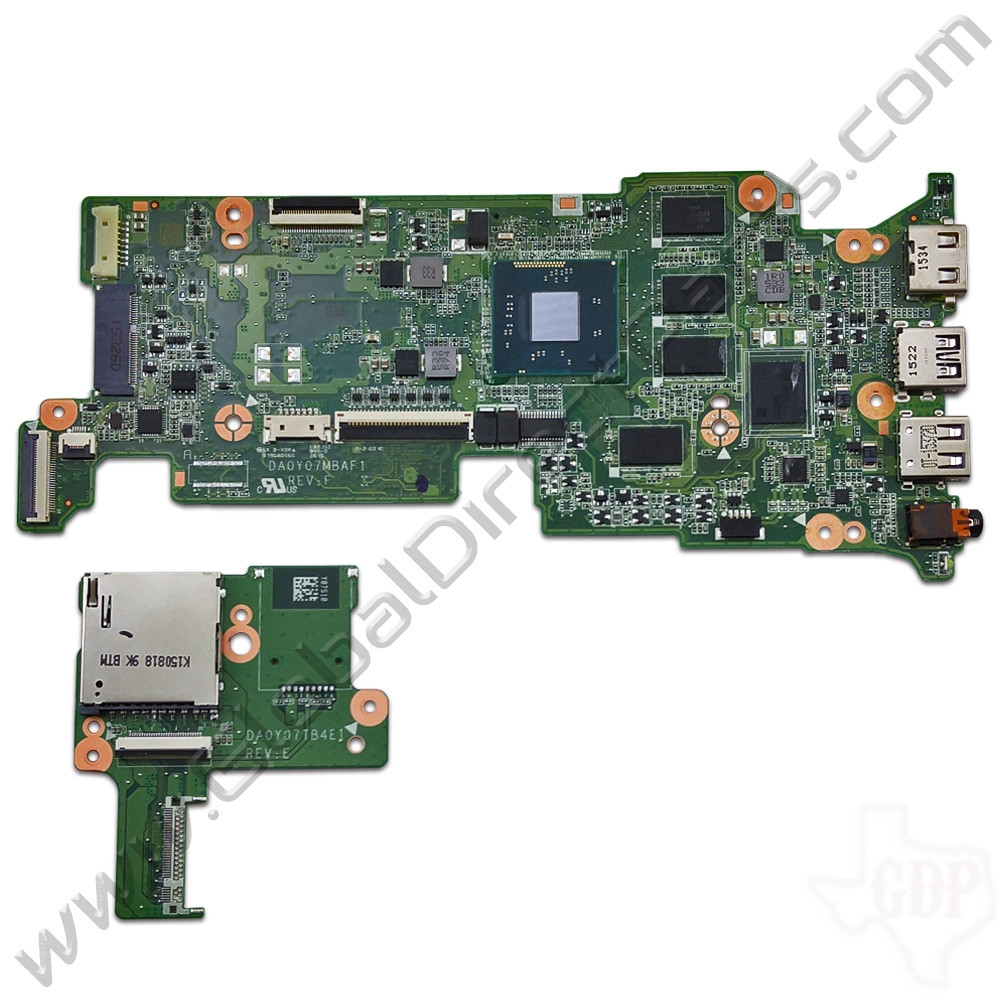 Oem Hp Chromebook 11 G3  G4 Motherboard  U0026 Daughterboard Set  4gb