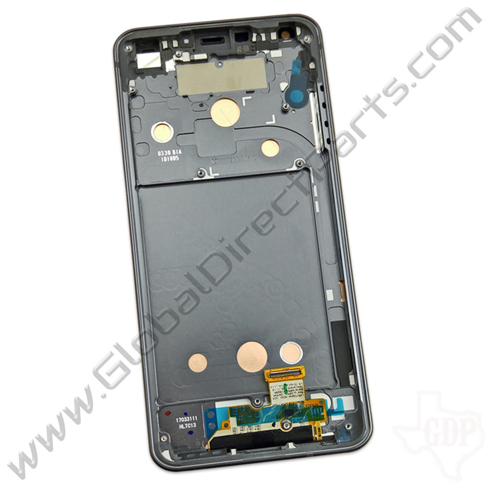 OEM LG G6 LCD & Digitizer Assembly with Front Housing - Black
