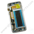 OEM Samsung Galaxy S7 Edge G935A Complete AMOLED & Digitizer Assembly with Front Housing - Black
