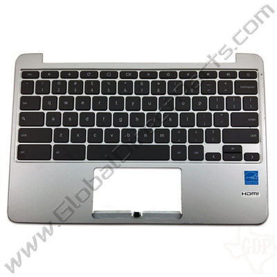 OEM Reclaimed Asus Chromebook C201P Keyboard [C-Side] - Black