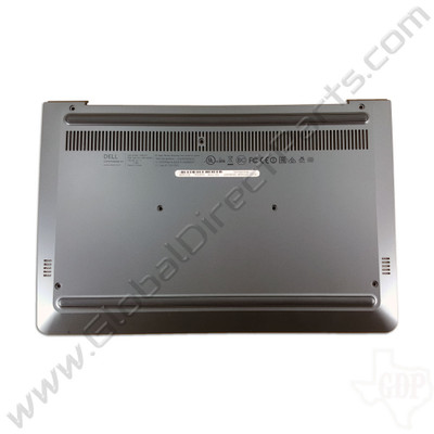 OEM Dell Chromebook 11 CB1C13 Bottom Housing [D-Side] - Gray [0X9XCN]