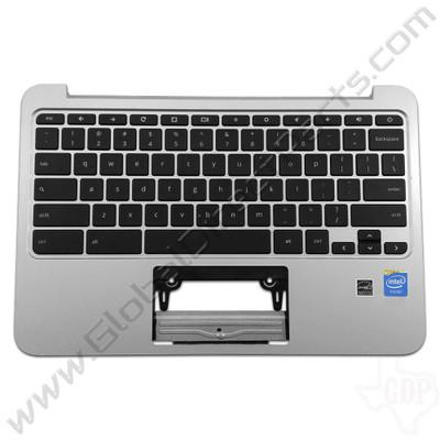 OEM Reclaimed HP Chromebook 11 G3, G4 Keyboard [C-Side] - Black [788639-001]