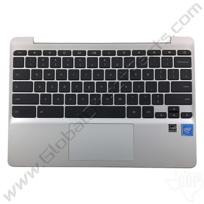 OEM HP Chromebook 11 G5, 11-V011DX Keyboard with Touchpad [C-Side] - Black