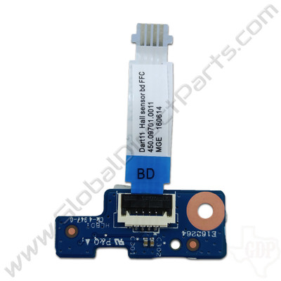 OEM HP Chromebook 11 G5, G5 Touch LED PCB with Flex