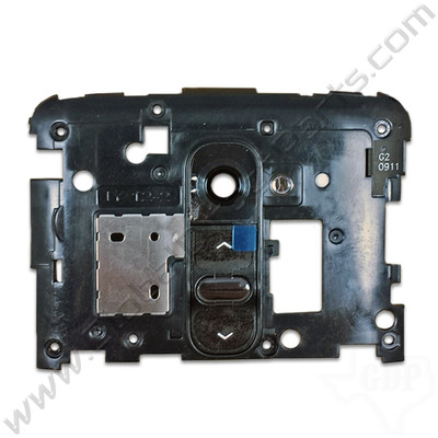 OEM LG G2 D801, D802, D800 Upper Rear Housing - Black