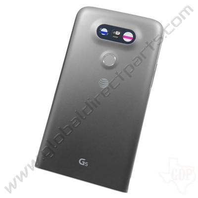 OEM LG G5 H820 Rear Housing - Gray