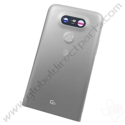OEM LG G5 H820 Rear Housing - Silver