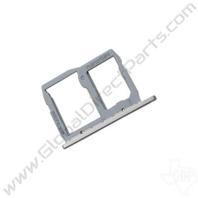OEM LG G5 SIM & SD Card Tray - Silver