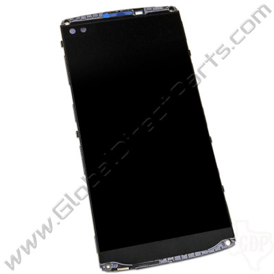 OEM Reclaimed LG V10 LCD & Digitizer Assembly with Front Housing - Black