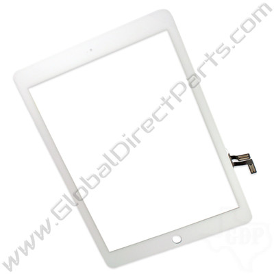 OEM Apple iPad Air, iPad 5th Gen Digitizer [Not Including Home Button Assembly] - White