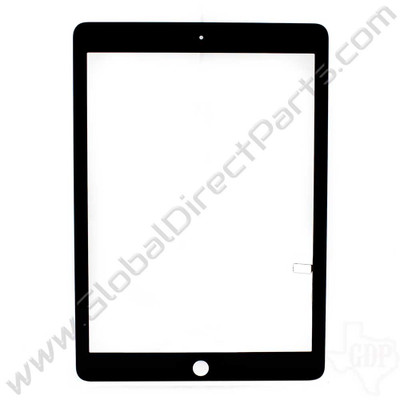 Aftermarket Digitizer Compatible with Apple iPad Air, iPad 5th Gen [Not Including Home Button Assembly] - Black