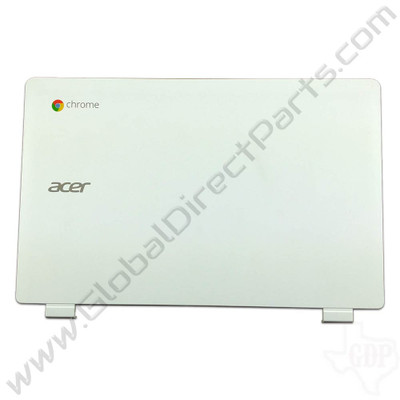 OEM Reclaimed Acer Chromebook 11 CB3-111 LCD Cover [A-Side] - White