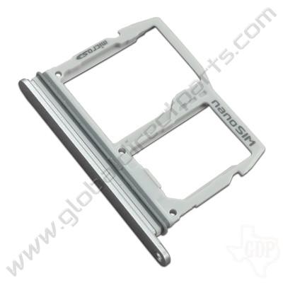 OEM LG G6 SIM & SD Card Tray - Silver