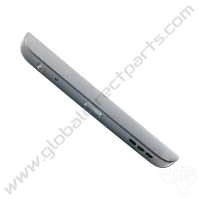 OEM LG V20 Bottom Cover - Silver