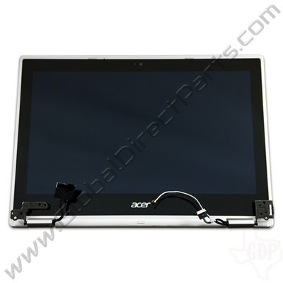OEM Reclaimed Acer Chromebook C738T, CB5-132T Complete LCD & Digitizer Assembly - White