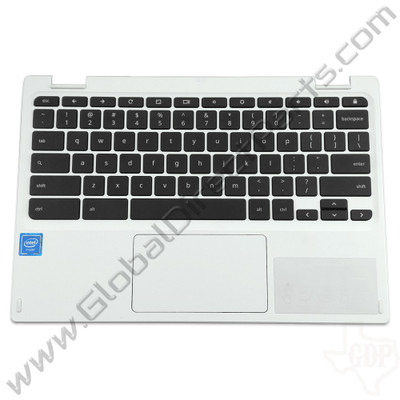 OEM Acer Chromebook C738T, CB5-132T Keyboard with Touchpad [C-Side] - White
