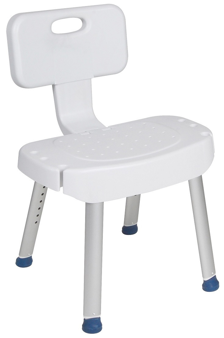Shower Chair with Folding Back 12606 Drive