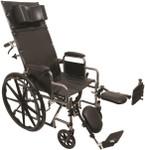 Probasics Reclining Wheelchair w/ Elevating Legrests