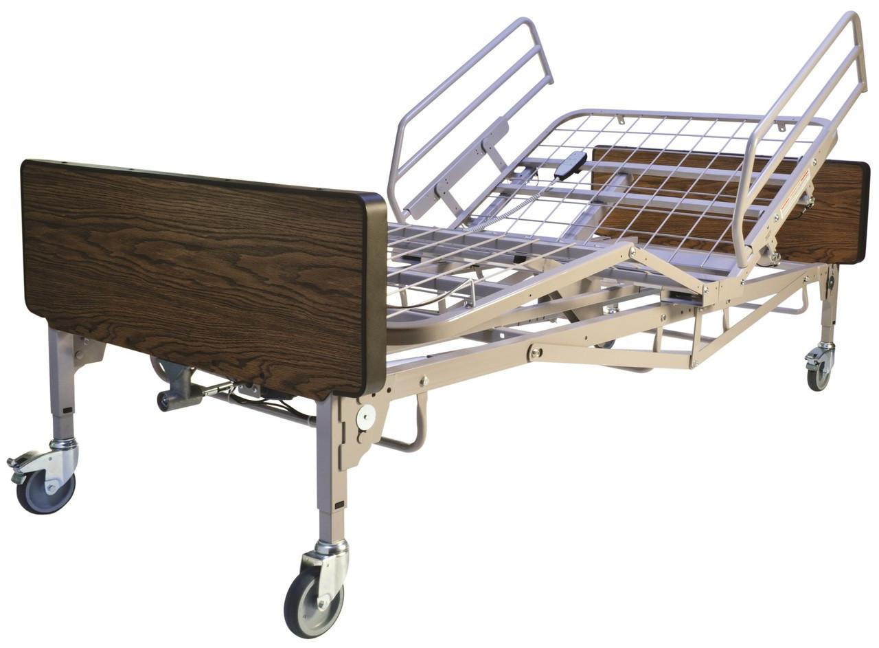 Delightful Bariatric Hospital Bed, Mattress, Half Rails By Graham Field