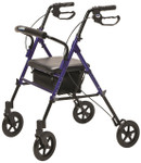 Set N' Go Wide Height Adjustable Rollator RJ4718 by Lumex