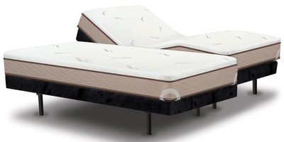 Style adjustable base with Memory Cell Trinity mattress