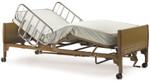 "Invacare 84"" Semi Electric Hospital Bed, Mattress & Rails 5310IVC"
