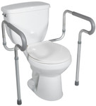 Padded Toilet Arms Safety Frame RTL12000 by Drive