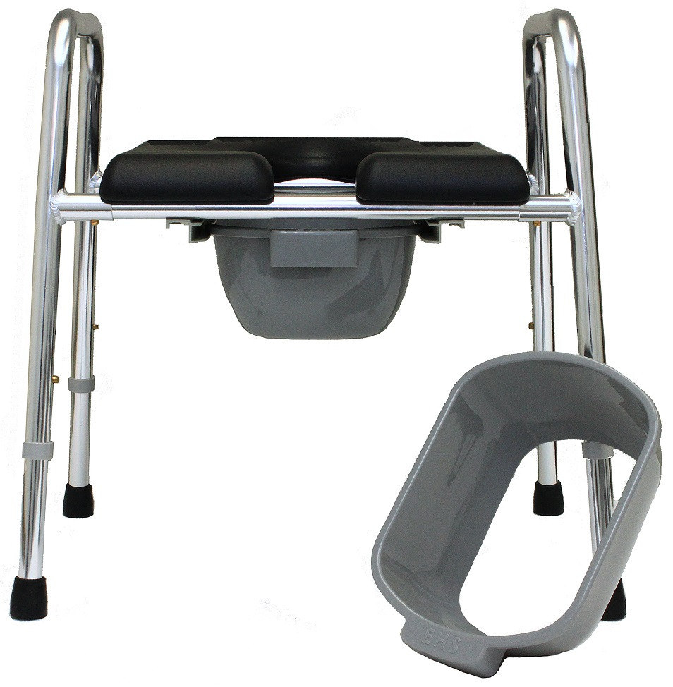 Eagle Health 74654 Padded Shower Chair & Commode
