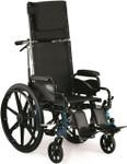 Invacare 9000 Jymni Recliner Wheelchair w/ Legrests