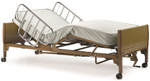 Semi Electric Hospital Bed w/ Mattress & Rails 5310IVC by Invacare