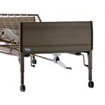 Invacare Manual 3 Crank Hospital Bed w/ Mattress & Rails 5307IVC