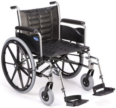 Tracer IV with 450 lb weight capacity option, full length arms and footrests