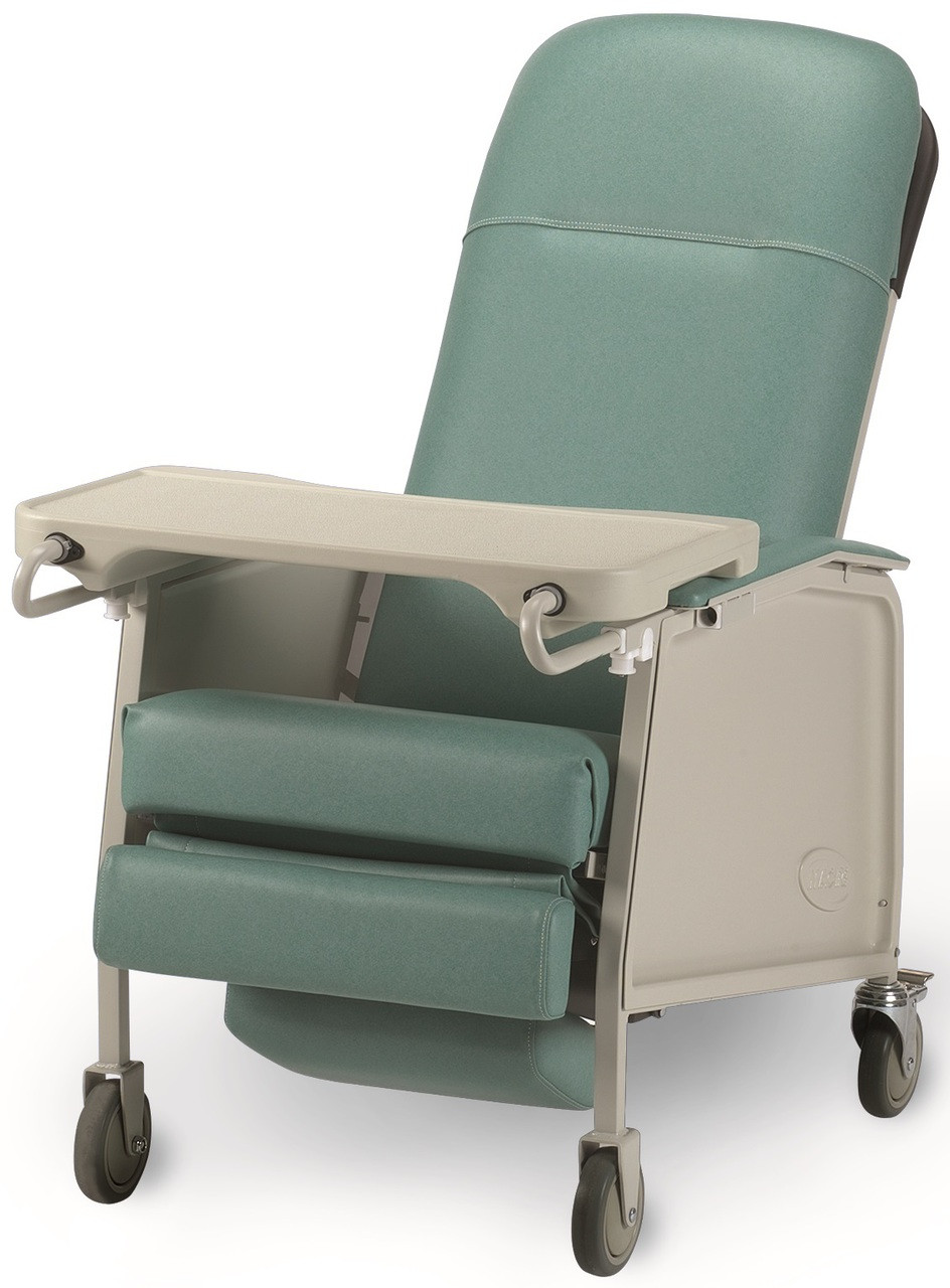 Invacare IH6074A Three Position Hospital Recliner