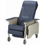 Invacare Deluxe 3-Position Hospital Recliner Chair IH6065A