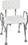 Eagle Health Shower Chair 62231 with Back & Arms