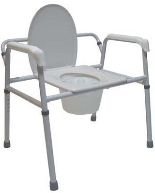 Tuffcare M450 Extra Wide 3 in 1 Bedside Commode Chair