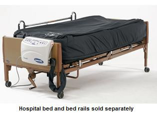 Bed and bed rails sold separately