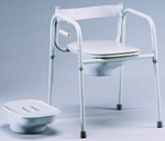 3-in-1 Commode with Elongated Seat 3223G by TFI Healthcare