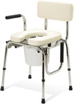 Padded Drop-Arm Commode 98204 by Guardian
