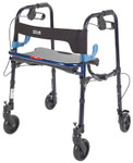 "Clever-Lite Junior Walker Rollator, 5"" Wheels 10230J by Drive"