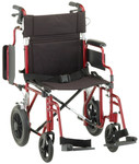 "Nova 352 Transport Chair w/ Removable Arms, 12"" Wheels"