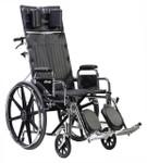 Sentra Extra Wide Full Reclining Wheelchair STD22RBDDA by Drive